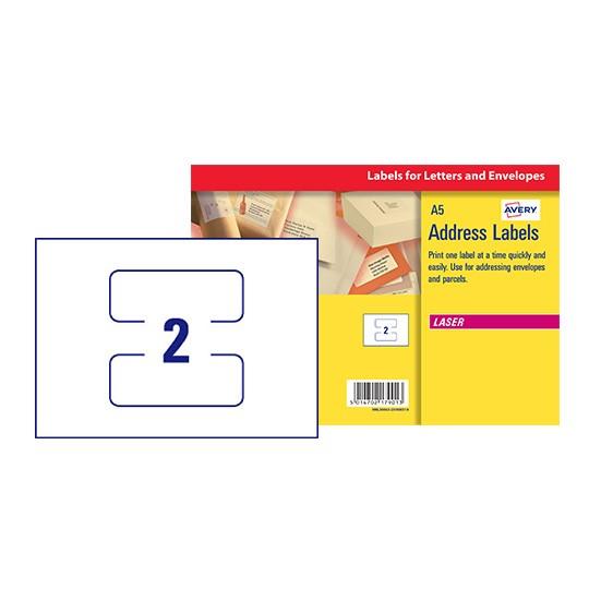 Address Labels L30063 20 Avery
