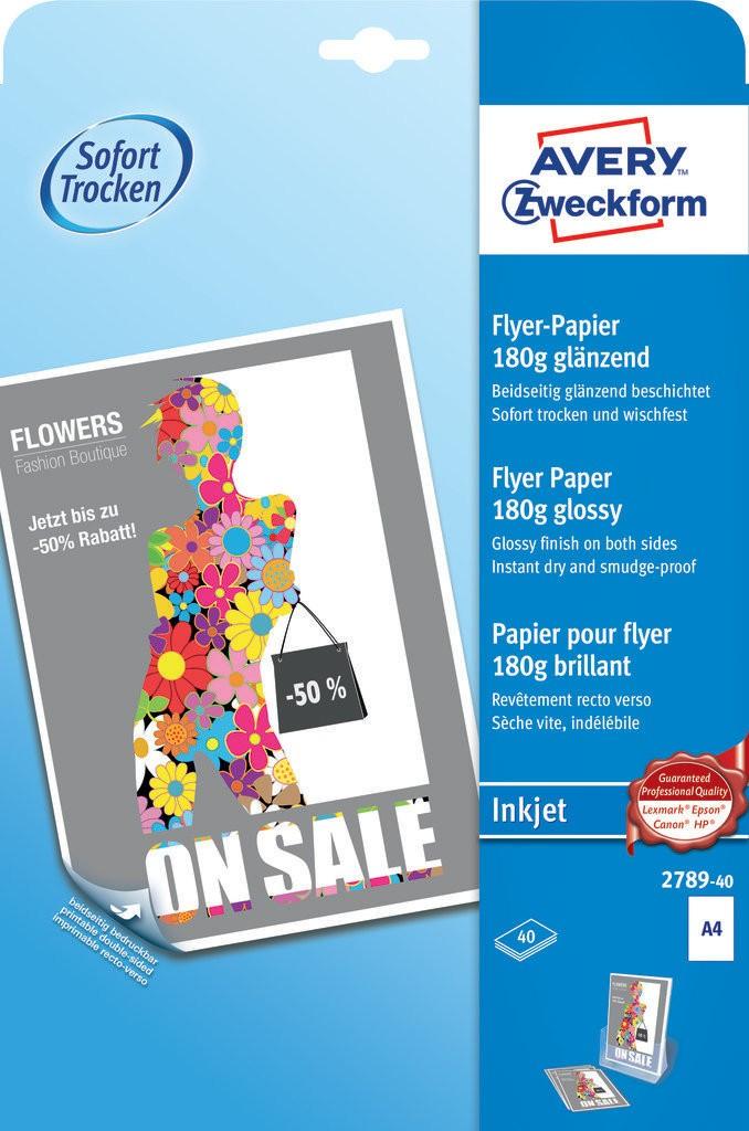 Inkjet flyer paper   2789-40   Avery