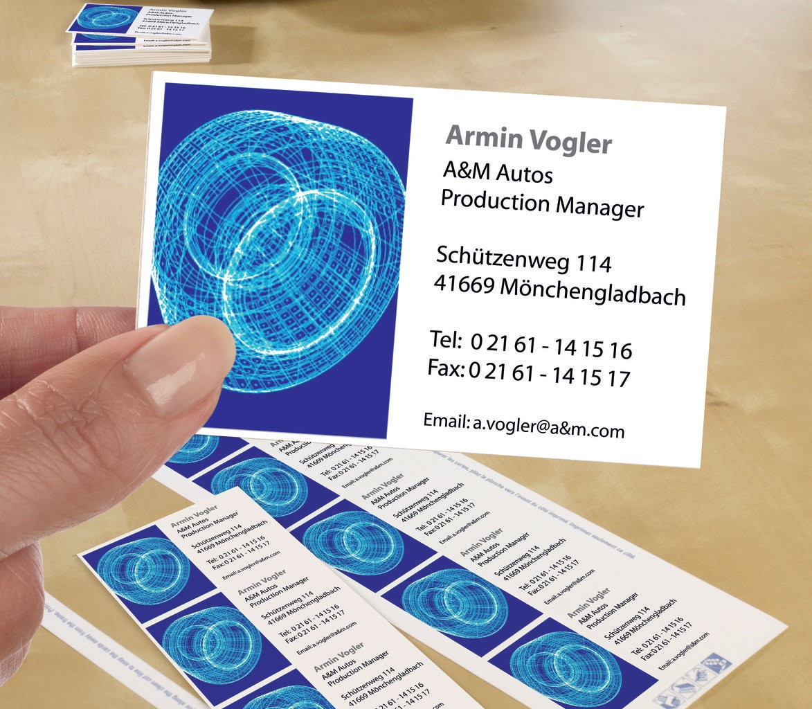 Classic Business Cards | C32010-25 | Avery