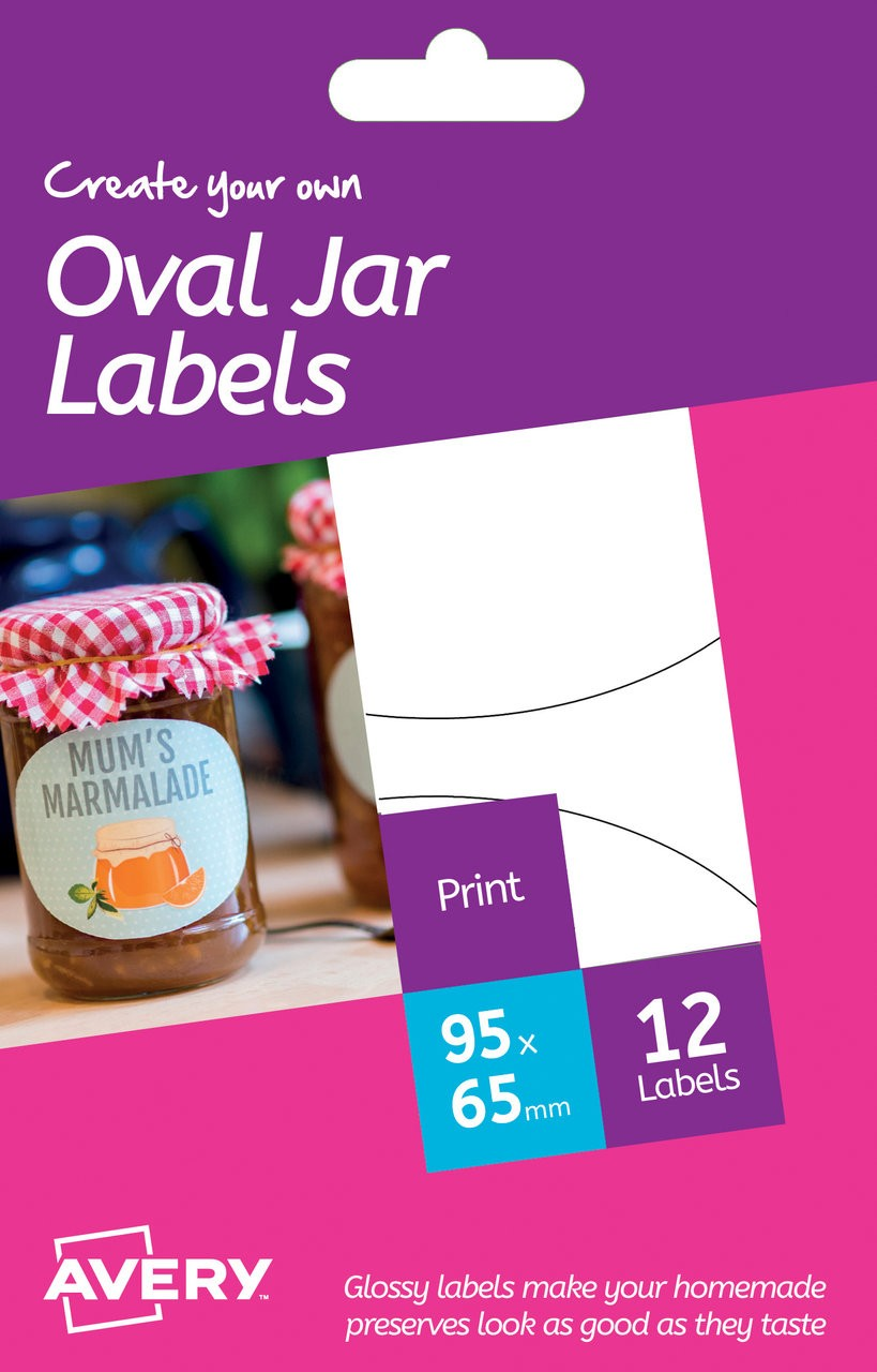 It is a photo of Selective Avery Jar Label Template