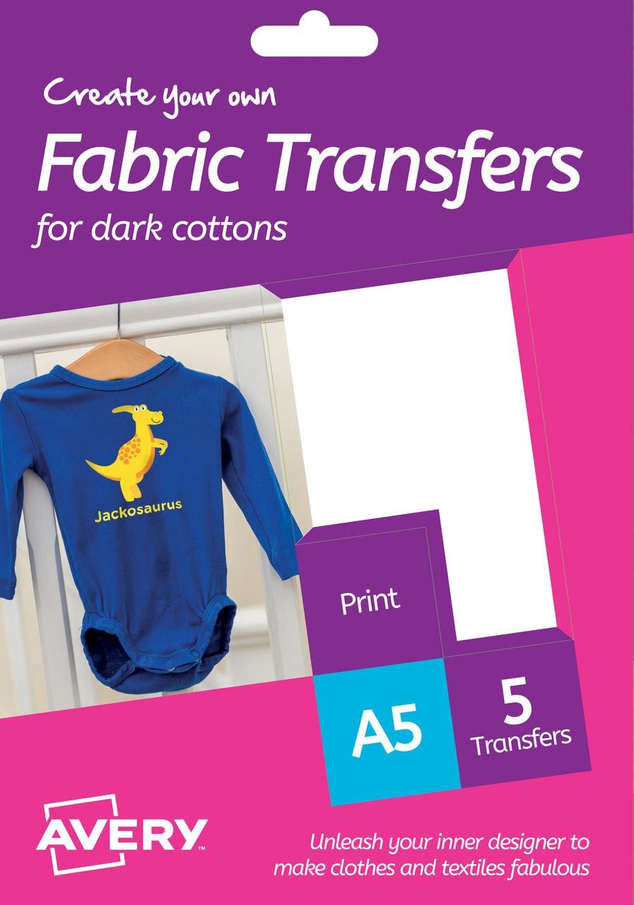 Fabric Transfers Htt02 Avery