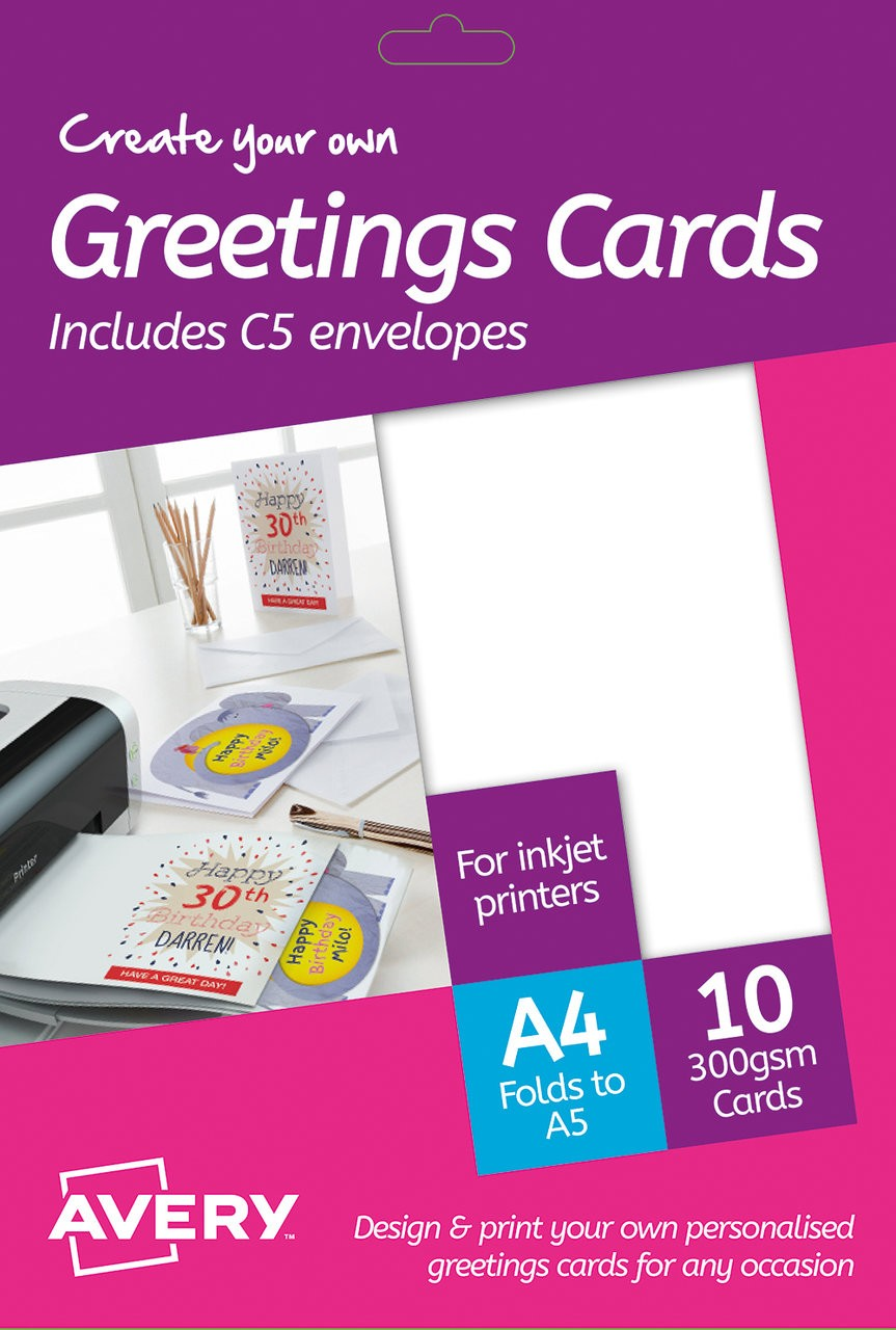 Greeting Cards Md2001 Avery