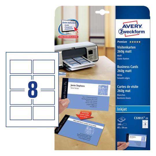 Premium Business Cards C32015 10 Avery