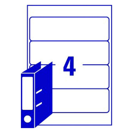 Word template for avery l7171 avery lever arch file labels 60 x 200 mm 4 per sheet maxwellsz